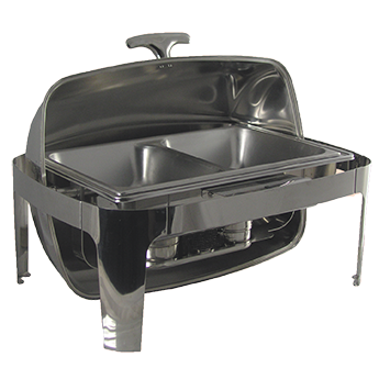 8 Quart Roll Top Chafing Dish Food Warmer And Keeper Rentals Dinnerware Phoenix AZ Arizona A To Z Party Event