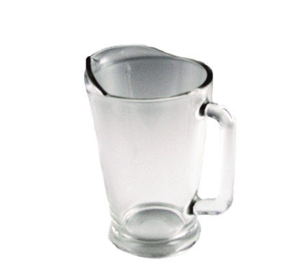 glass water pitcher beverage dispensers and pitcher