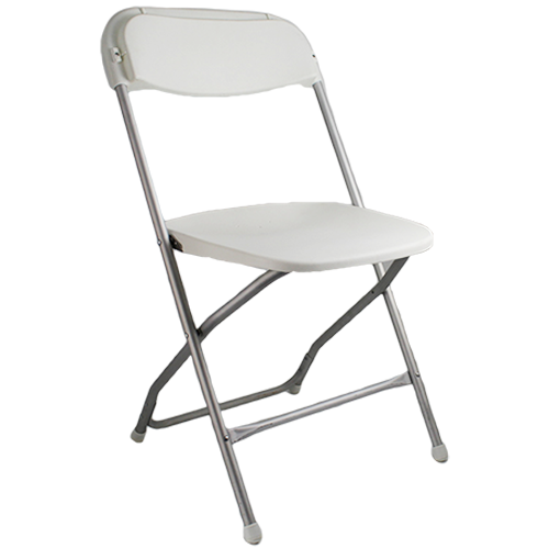 White Molded Folding Chair Chair Rentals Seating Rentals