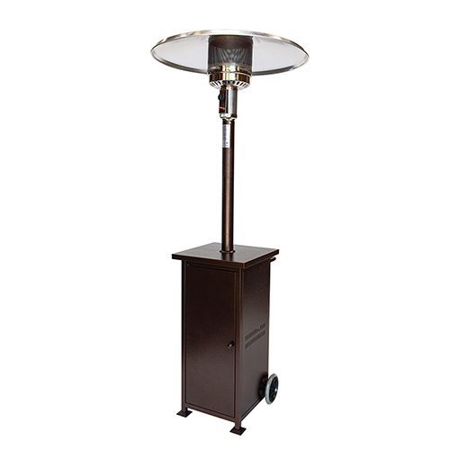 Collapsilbe Umbrella Heater Bronze Portable Patio Heater